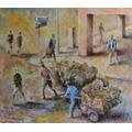Cuadro Óleo S/madera-original De Alfredo Speroni 80x70