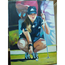 Gio Di Cianni, Jugadora De Golf, 50 X 70 Aprox.