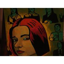 Obra De Iglesias Brickles,la Sospecha 50x50 Xilopintura
