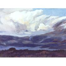 Nº 56 - Nubes De Tormenta - Óleo De Julio Ducuron
