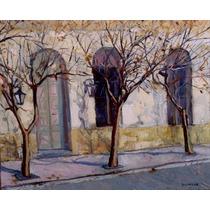 De Otros Tiempos.óleo Original Julio Ducuron.impresionismo.