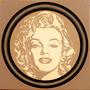 Serie De Marilyn Monroe, Oleo Sobre Tela 50x50 Originales.