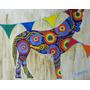 Cuadro Arte Animal Niños Infantil Deco Caballo Color