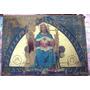 Cuadro Religioso Siglo 19 Alfa Omega Sagrado Corazon (5486)