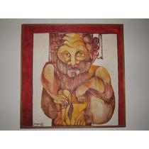 Pintura Al Óleo Tema Indígena - Lomas De Zamora