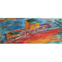 Pintura Al Óleo Original Y Firmada