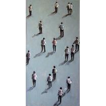 Cuadro Original De Camilo Lucarini - Personajes - 2 Paneles