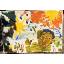 Pintura Oleo Tela Bastidor Popovich Cuevas Arseniy Arte