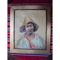 Cuadro Pintura Óleo Retrato De J. Bors