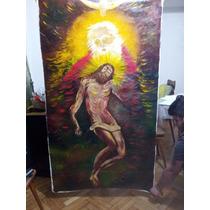 Pintura/ Cuadro De La Santa Trinidad De Mario Cano