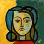 Cuadro Arte Decorativo Picasso Versionado Por Jorge Calvo