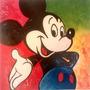 Cuadro Arte Decorativo Mickey Mouse De Jorge Calvo