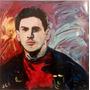 Cuadro Arte Decorativo Retrato De Lionel Messi