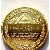 3 Monedas De Coleccion Imperio Maya 2012 Coleccionar