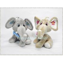 Elefante De Peluche (32cm) Con Moño Extrasuave