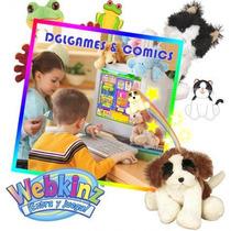 Peluches Webkinz Adopta Tu Mascota De Ganz Toys Varios Mods