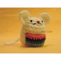 Amigurumi Ratoncito Ratón Perez Guarda Diente Tejido Crochet