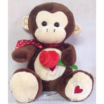 Mono O Perro Con Flor+bombones,envios O Retiros En El Día.