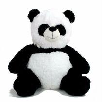 Peluche Oso Panda Mediano 40cm Hermoso Y Suave La Lucila