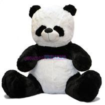 Oso Panda De Peluche Grande Importado De La Mejor Calidad!
