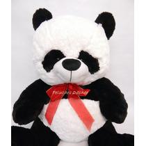 Oso Panda Peluche Grande 70cm Extrasuave Importado