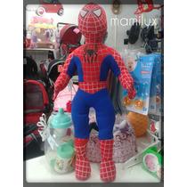 Ultimos !!! Hombre Araña 57 Cm.de Alto !! Muñecos Spiderman