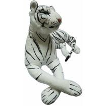 Peluche Tigre Bengala Blanco Super Gigante