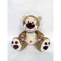 Tigre O Leopardo De Peluche Con Sonido