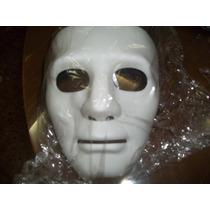 Mascara De Teatro Blanca/natural