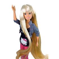 Hello Kitty Muñeca Super Hair Con Accesorios De Pelo 83302
