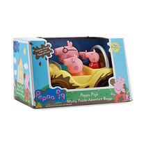 Peppa Pig Y Su Familia En -buggy Interactivo- A Pilas