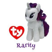 Peluche Rarity De My Little Pony, 19 Cm, Divino!