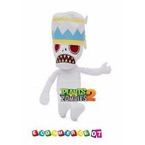 Plantas Vs Zombies - Peluche Buckethead Momia Musica Juego