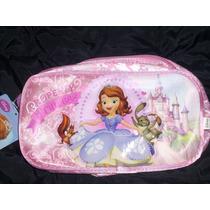 Princesa Sofia- Cartucheras /neceser 2 Cierres - Disney