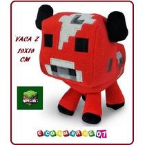Minecraft - Peluche Vaca Seta - Vacongo - Peluche 19x19cm!