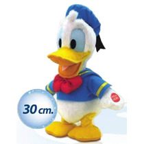 Peluche Pato Donald Interactivo De Disney Intek Tv 30cm