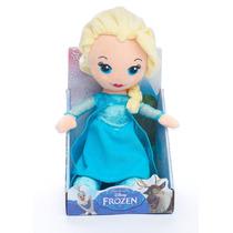Peluche Disney Frozen Elsa Anna Olaf Wabro 30cm Mundo Manias