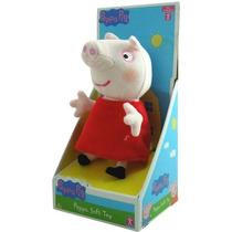 Muñeco Peluche Peppa Pig - Licencia Original - Mundo Manias
