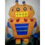 Peluche Robot Naranja!