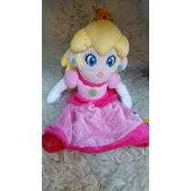 Princesa Peach Super Mario Bros Nintendo (30 Cm Aprox)