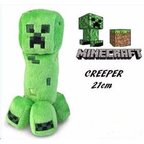 Minecraft - Peluche Creeper - Peluche 21cm! E-commerce07