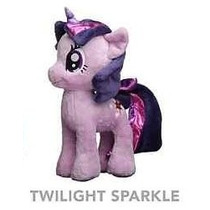 Muñeco Lila De Peluche My Little Pony Original