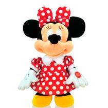 Peluche Minnie Bailarina Musical -3 Canciones 30 Cm -disney