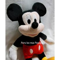 Minnie - Mickey Con Sonido - Peluche De 36cm!!!