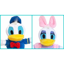 Pareja Peluche Daisy Y Donald Baby 27 Cm