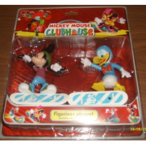 Mickey Y Donald En Patineta - Muñecos Playset- Valmada Shop