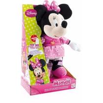 Peluche Interactivo Mickey Minnie Pluto Sonidos Punto Bebe