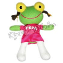 Sapo Pepe O Pepa De Peluche Ideal Niños