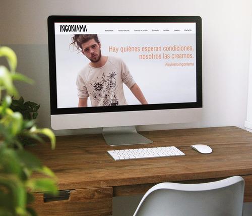 Paginas Web - Sitio Web Autoadministrable - Diseño Web