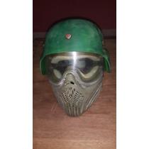 Mascara Paintball Helix Con Casco De Proteccion